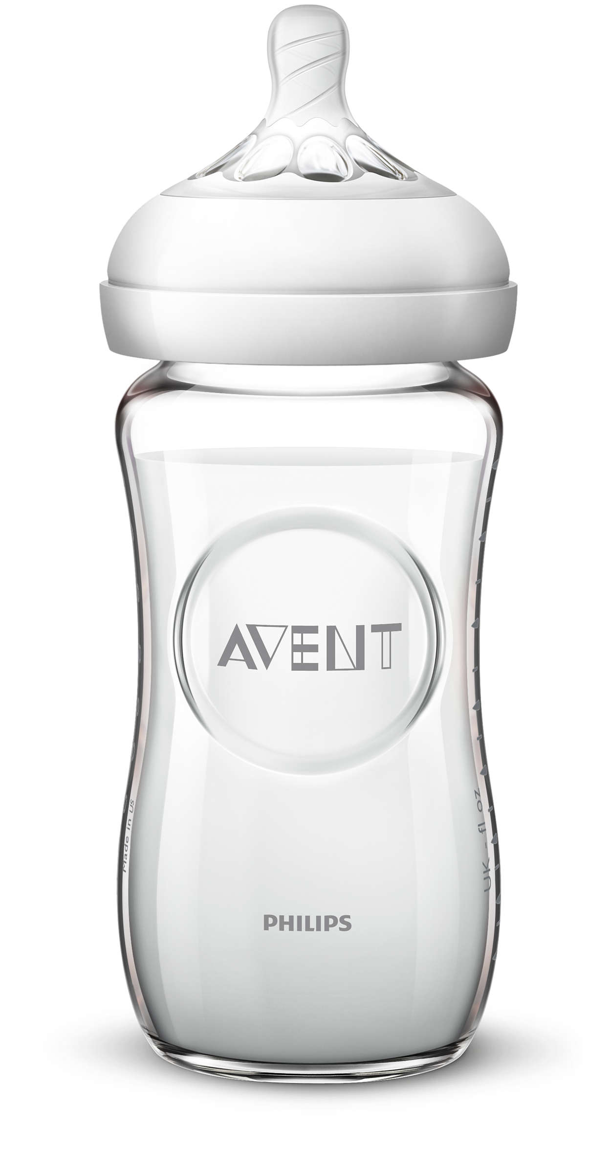 Philips AVENT Sklená fľaša NATURAL 240 ml